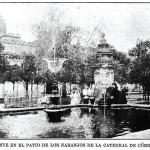 Fuente del Olivo. Patio de los Naranjos, Córdoba