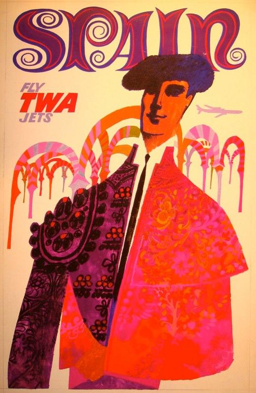 La Mezquita en los carteles de la TWA