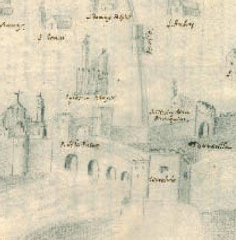 El primer plano de la ciudad de Córdoba. 1752